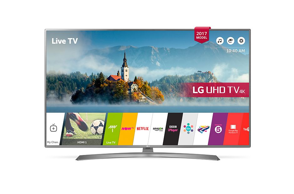 ტელევიზორი LG 43UJ670V LED HDR 4K / UHD SMART