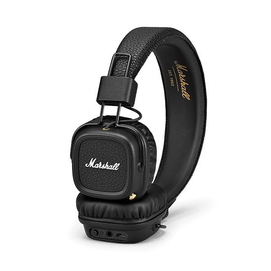 ყურსასმენი Marshall Marshall Major II Bluetooth black